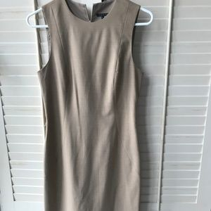 Theory Dress - size 4 - Camel